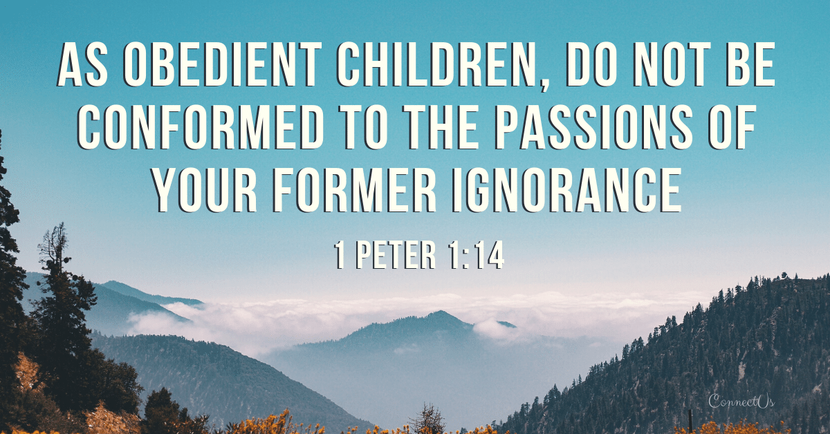 1 Peter 1:14