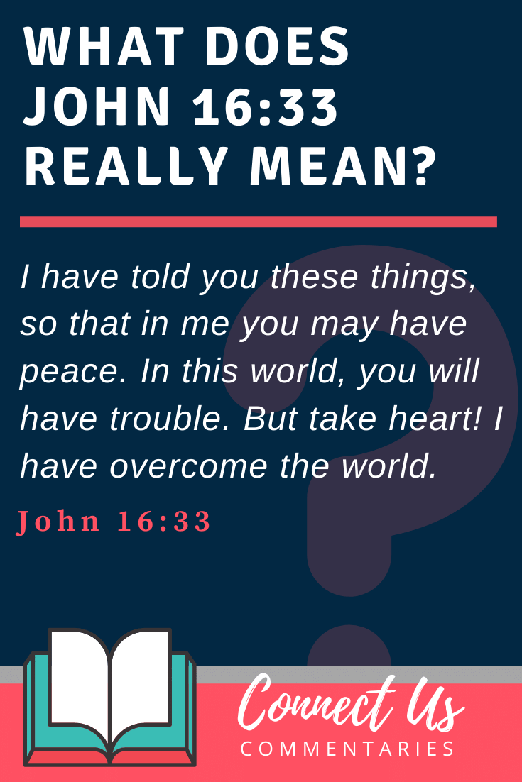 John 16:33 Meaning