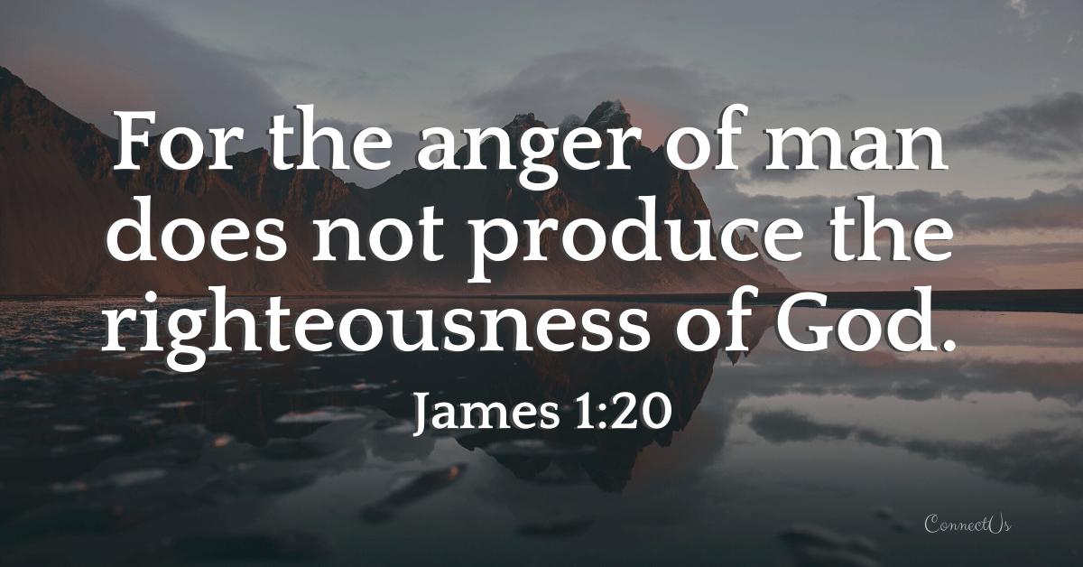 James 1:20