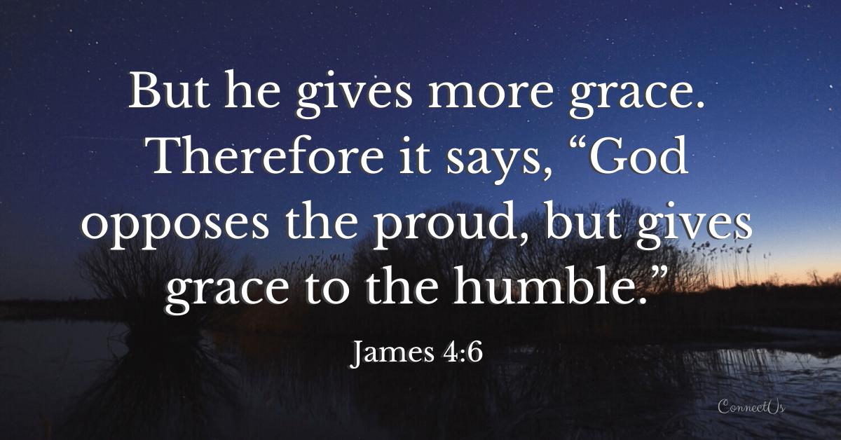 James 4:6