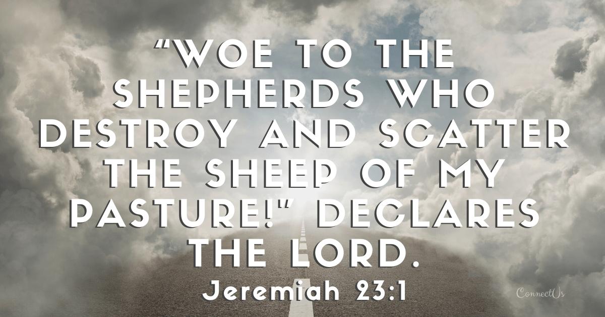 Jeremiah 23:1