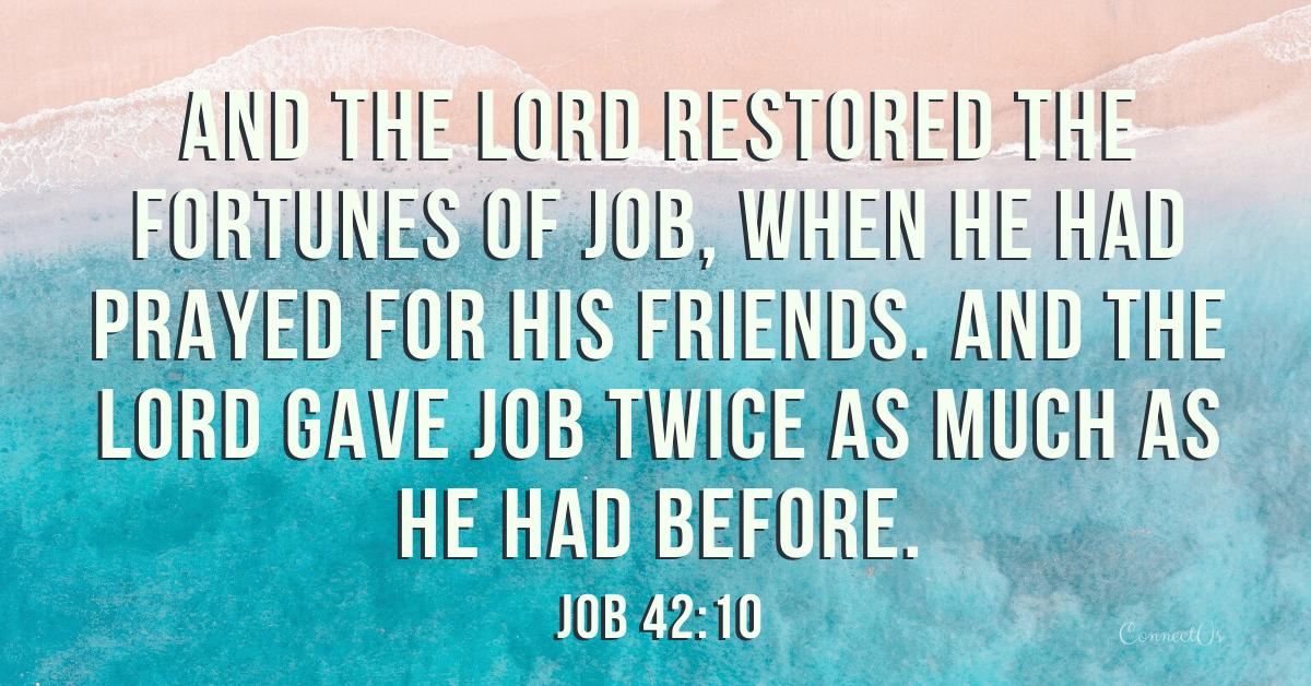 Job 42:10