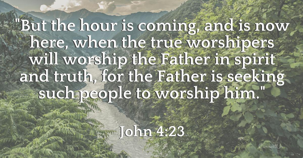 John 4:23