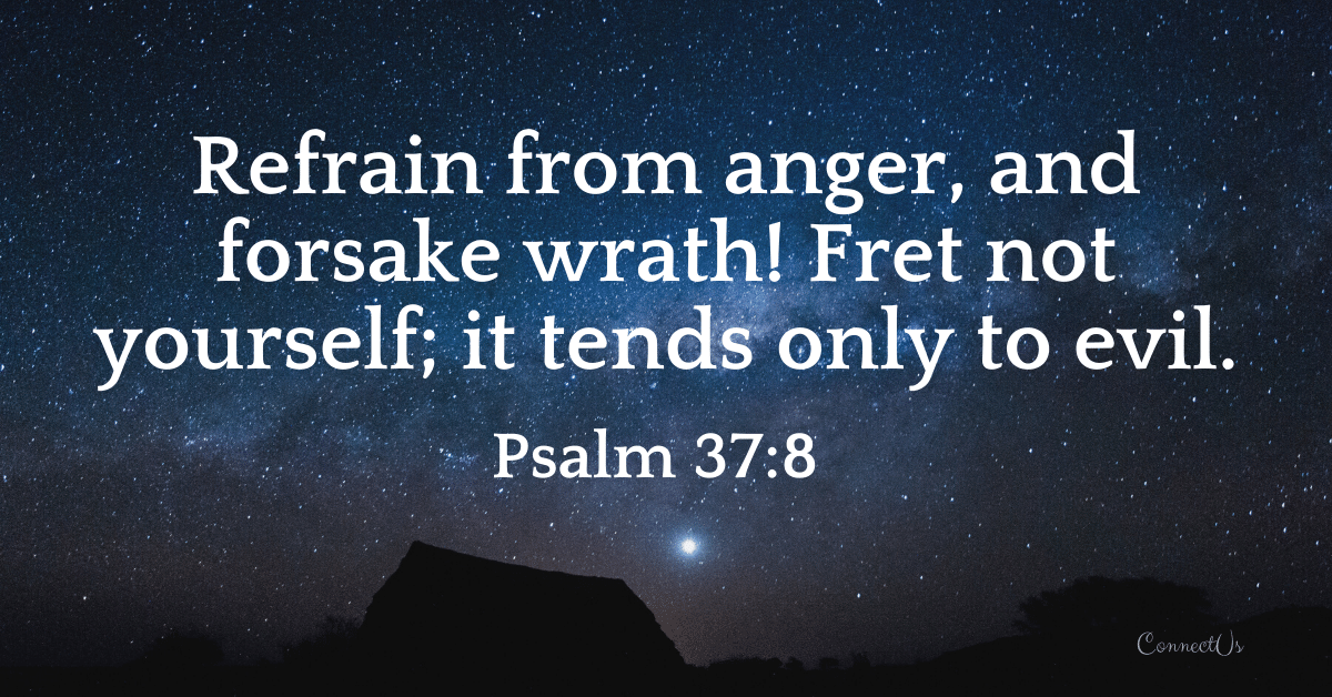 Psalm 37:8