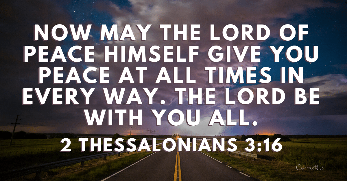 2 Thessalonians 3:16