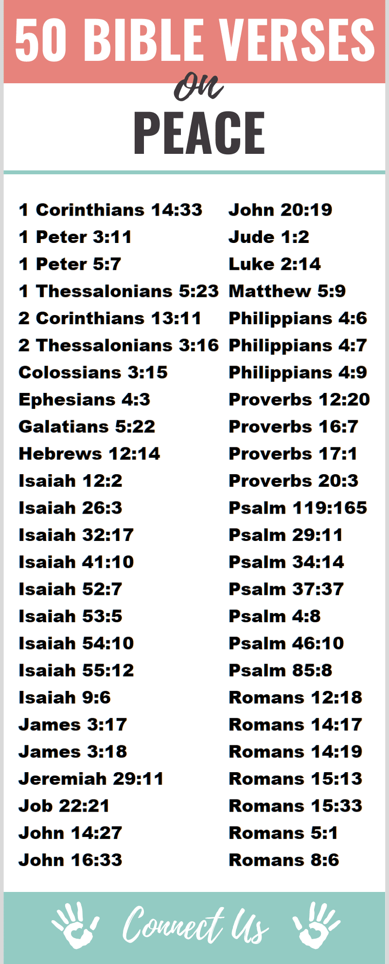 Bible Verses on Peace