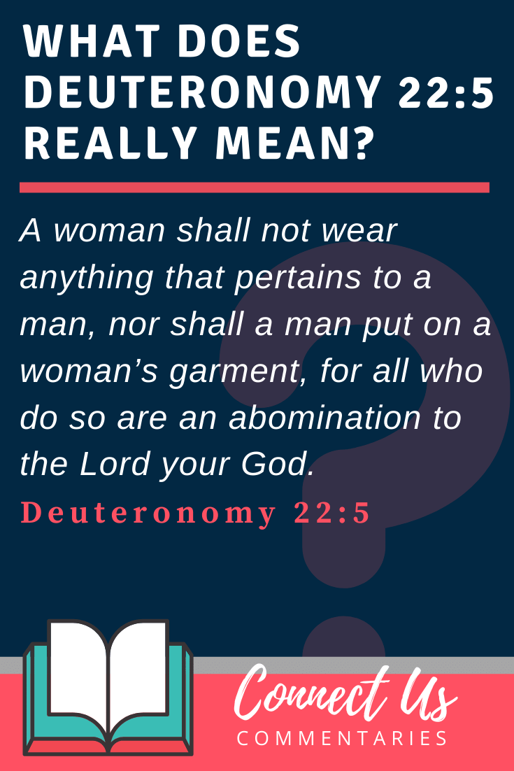 Deuteronomy 22:5 Meaning