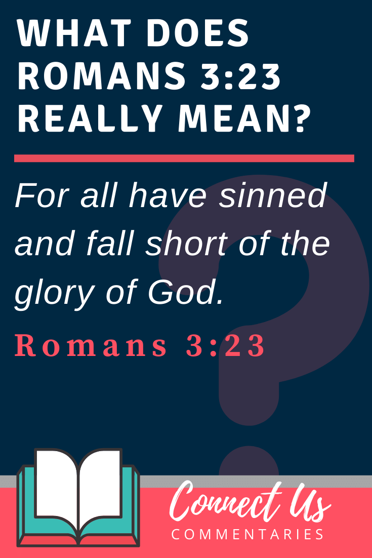 Romans 3:23 Meaning