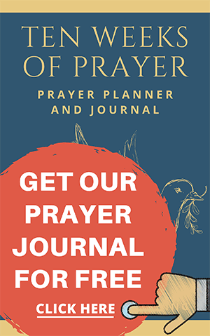 Get Our Prayer Journal Now