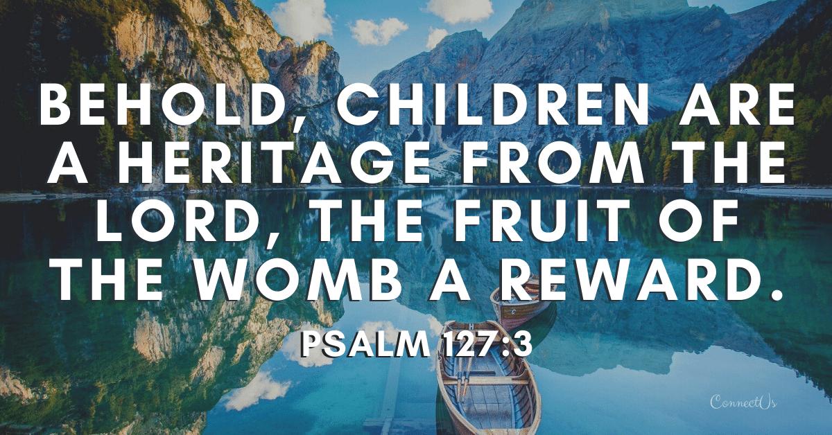 Psalm 127:3