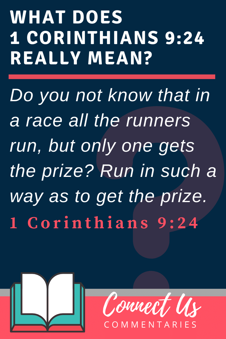 1 Corinthians 9:24 Meaning