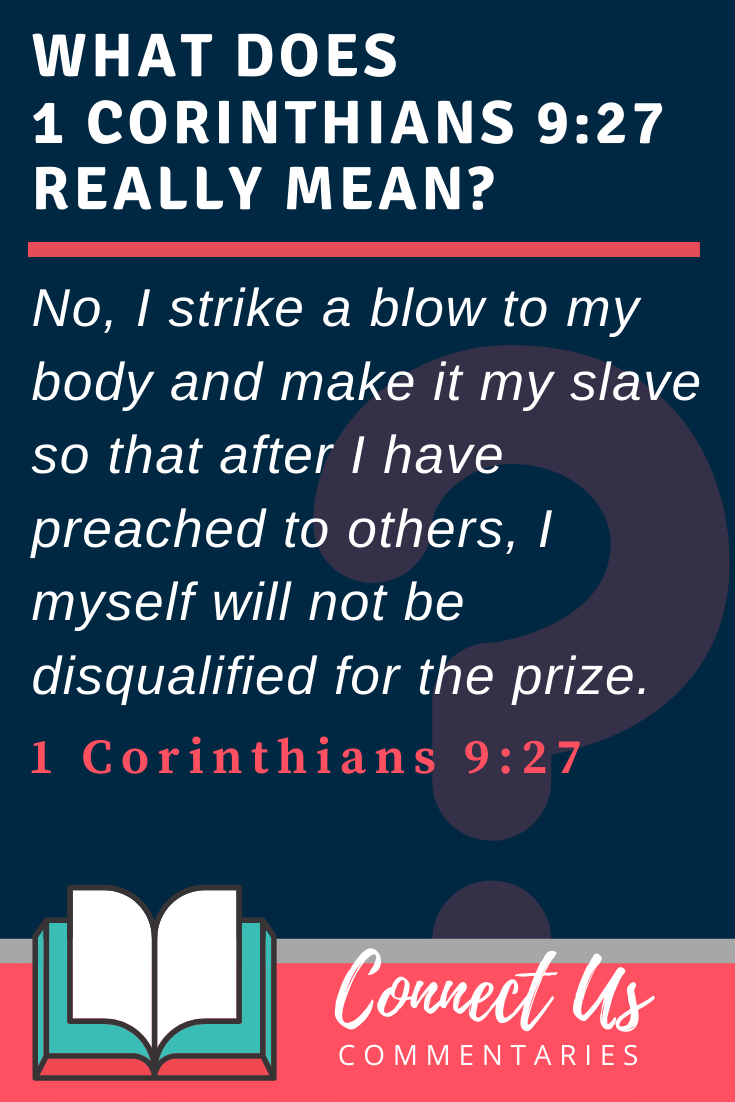 1 Corinthians 9:27 Meaning