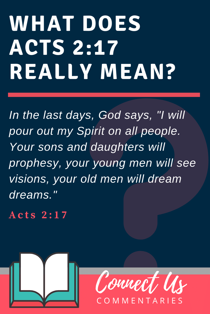 Acts 2:17 Meaning
