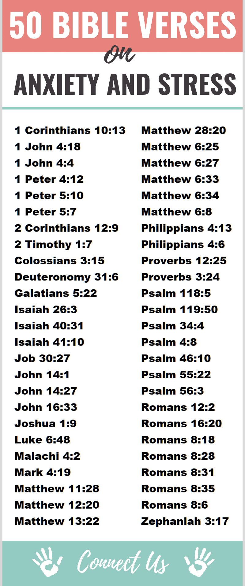 Bible Verses on Anxiety and Stress