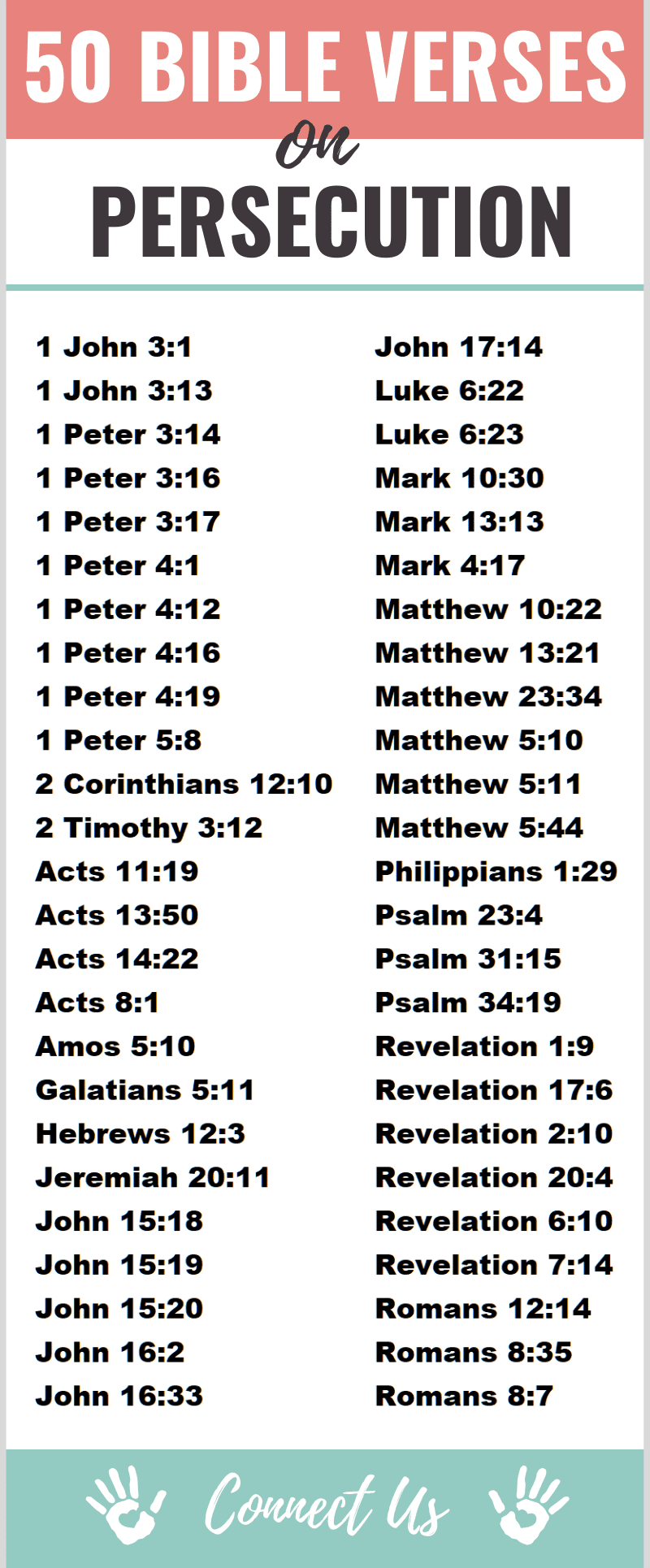 Bible Verses on Persecution