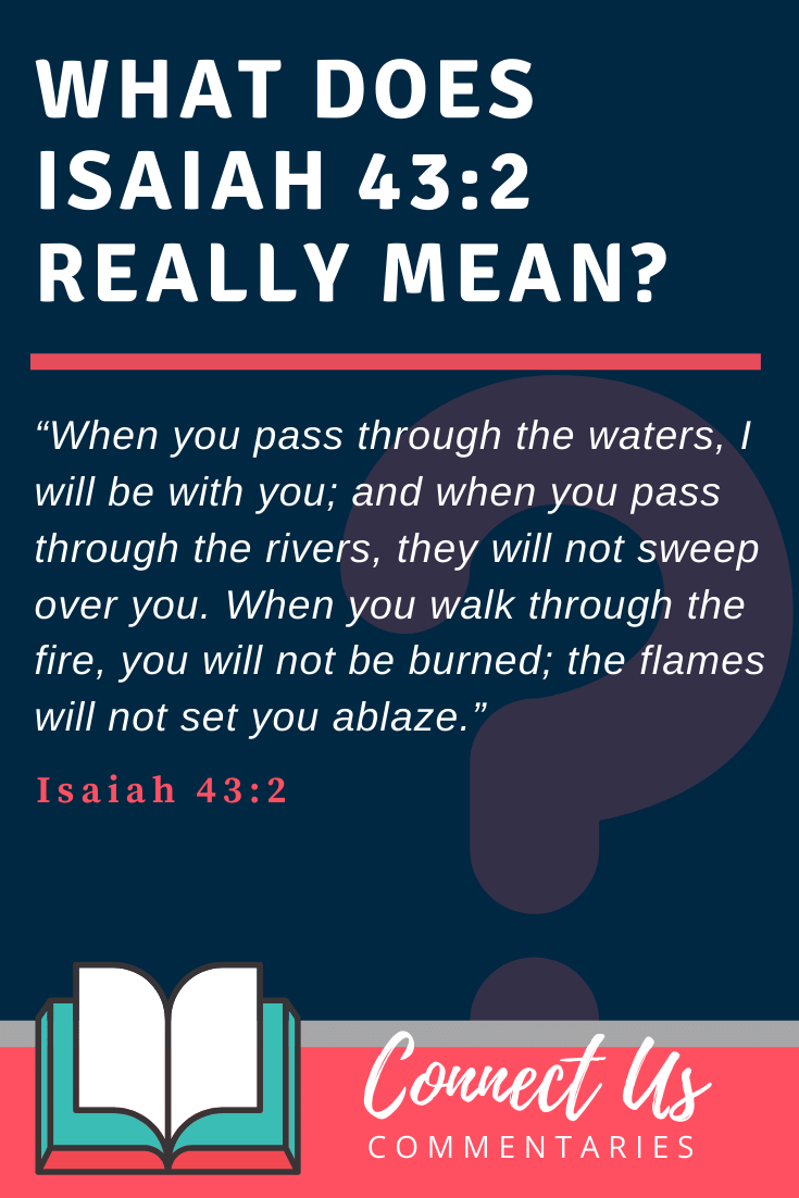 Isaiah 43:2 Meaning