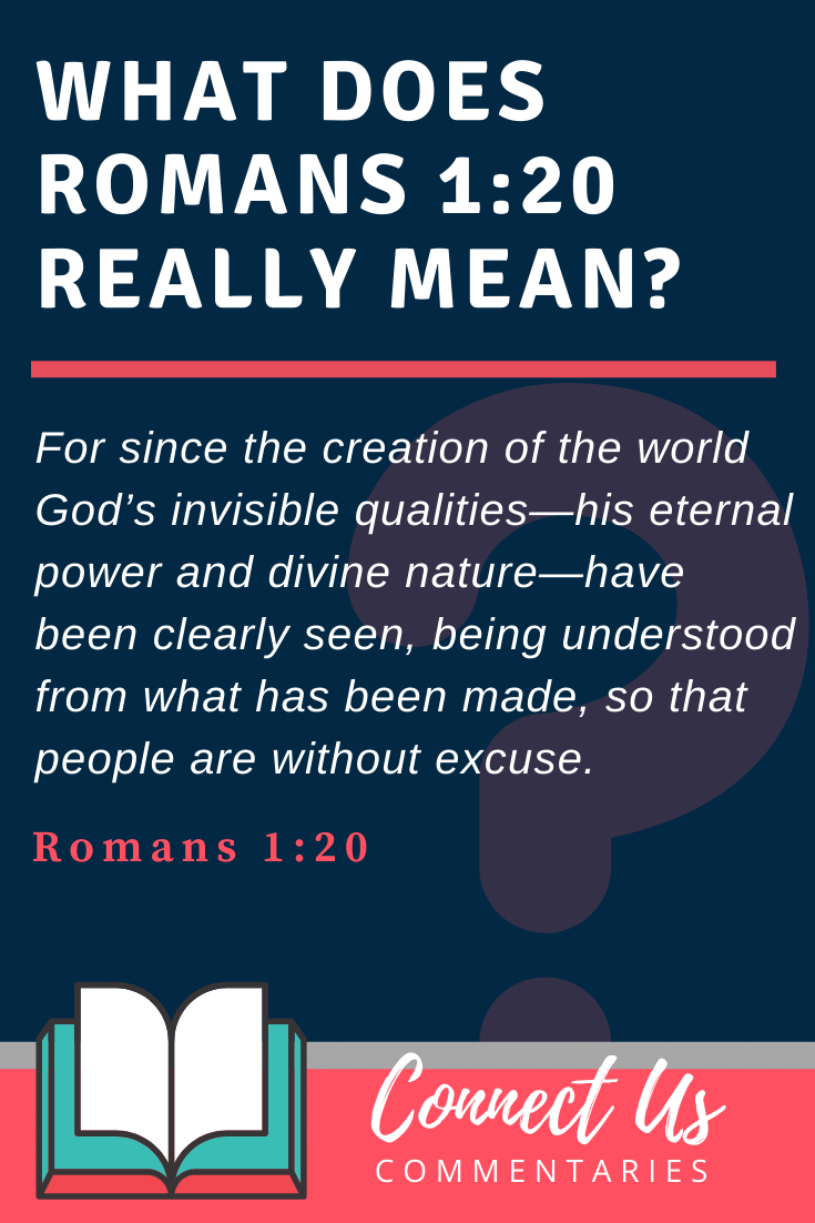 Romans 1:20 Meaning