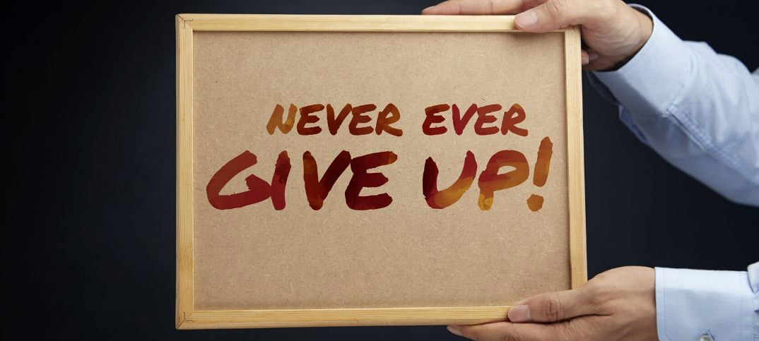 Bible Scriptures on Never Giving Up