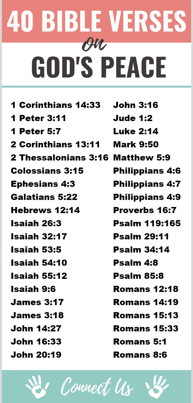 Bible Verses on God's Peace