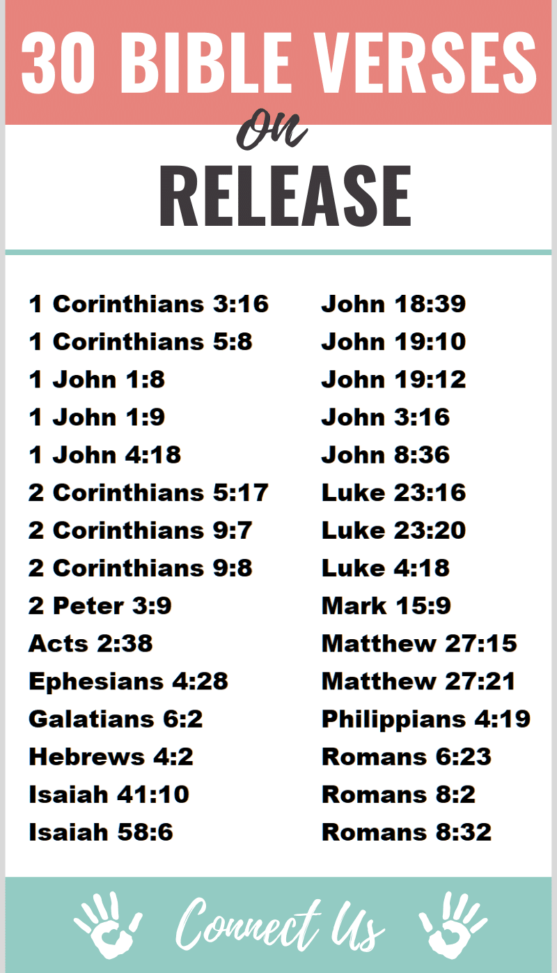 Bible Verses on Release