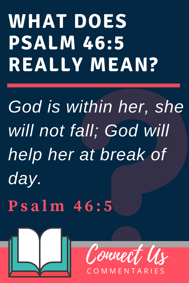 Psalm 46:5 Meaning and Commentary
