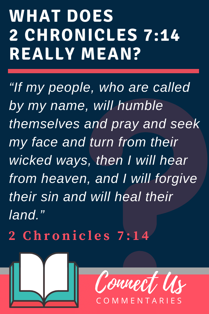 2 Chronicles 7:14 Meaning and Commentary