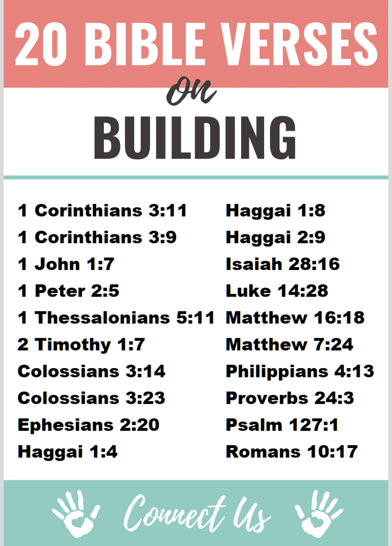 Bible Verses on Building