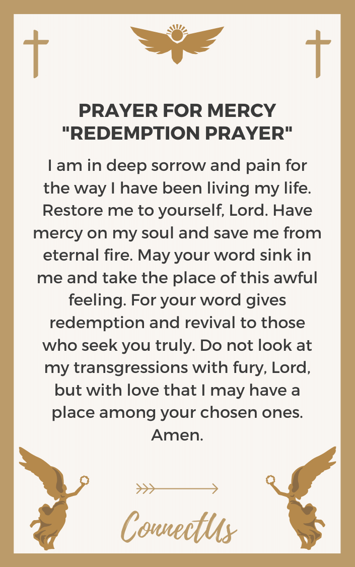 redemption-prayer