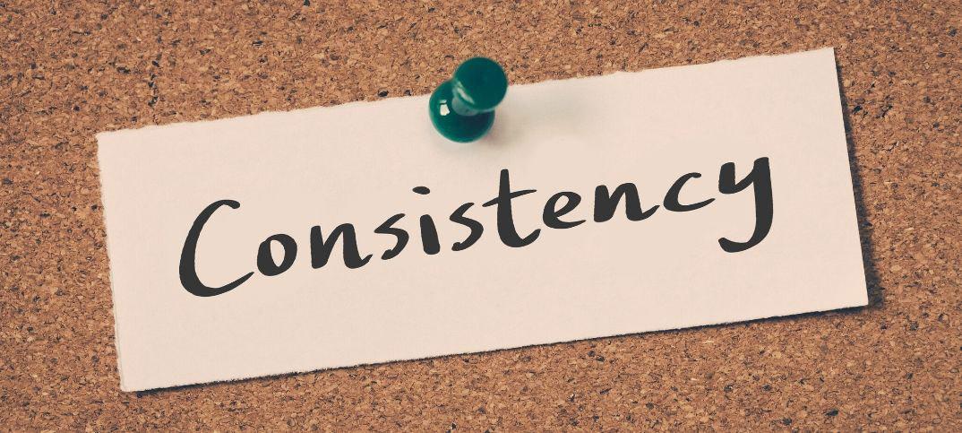 Bible Scriptures on Consistency
