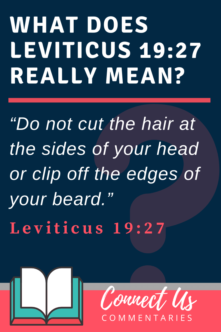 Leviticus 10:10 Meaning of Do Not Cut the Hair at the Sides of