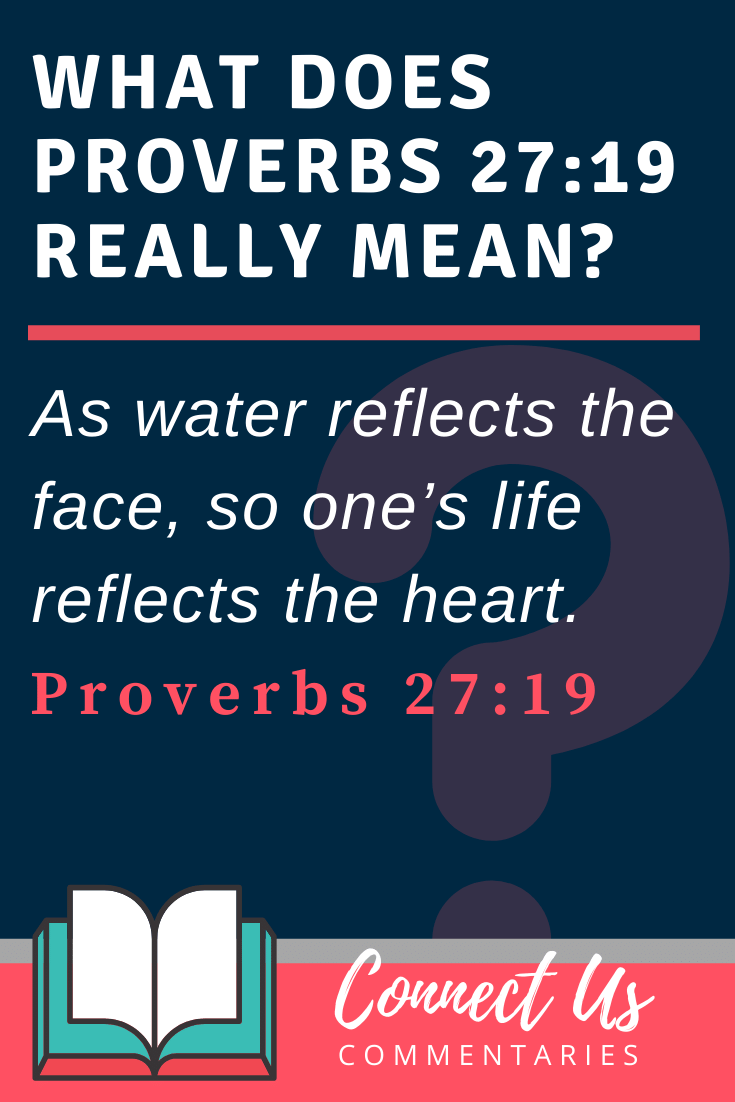 Proverbs 27:19 Meaning and Commentary