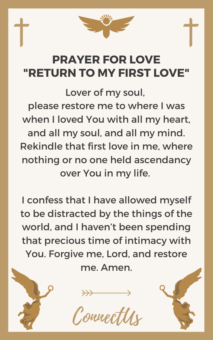 return-to-my-first-love-prayer