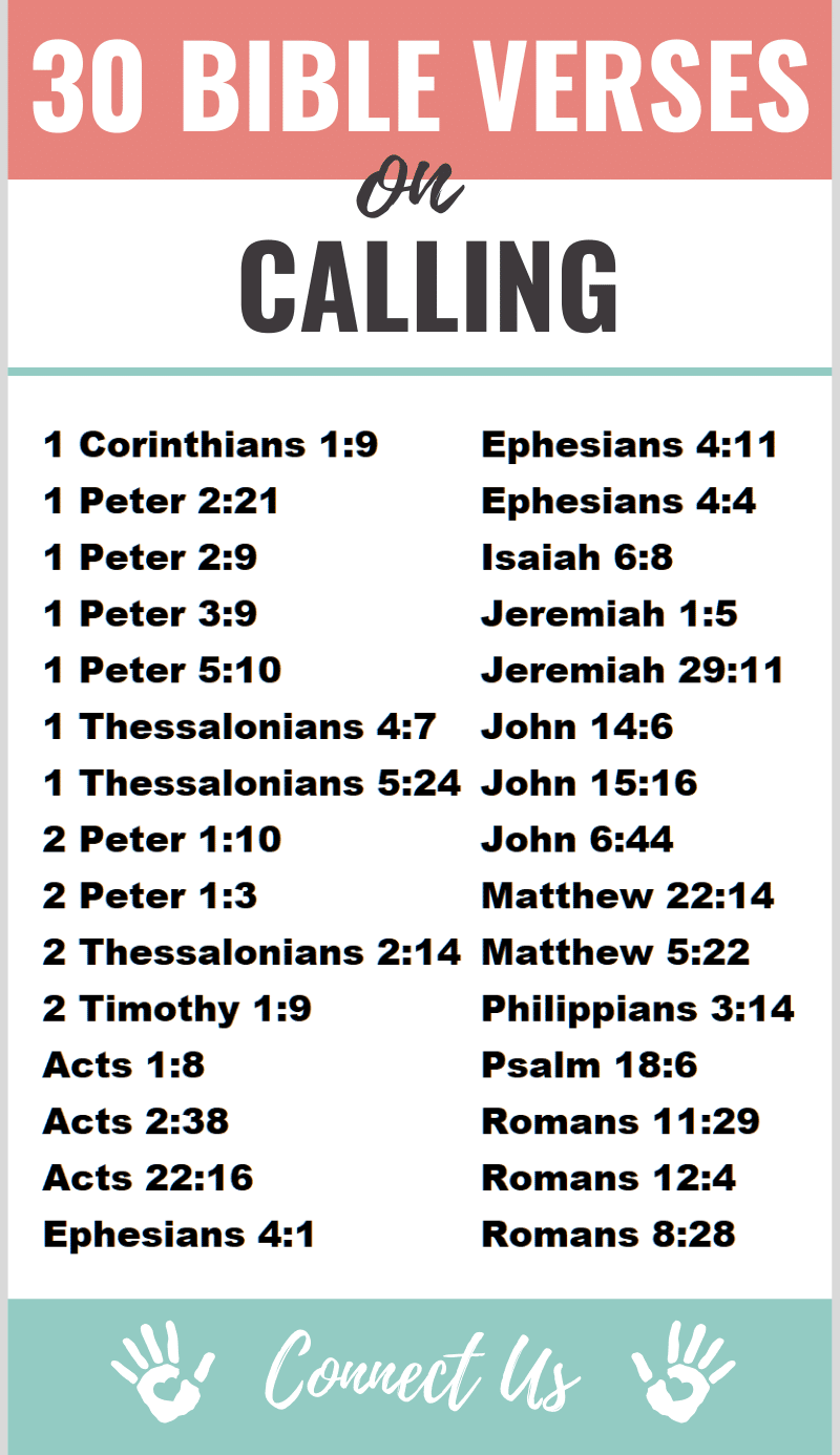 Bible Verses on Calling