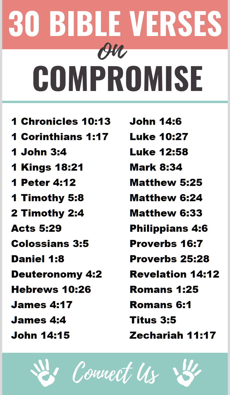 Bible Verses on Compromise