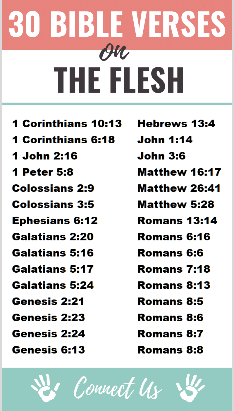 Bible Verses on the Flesh