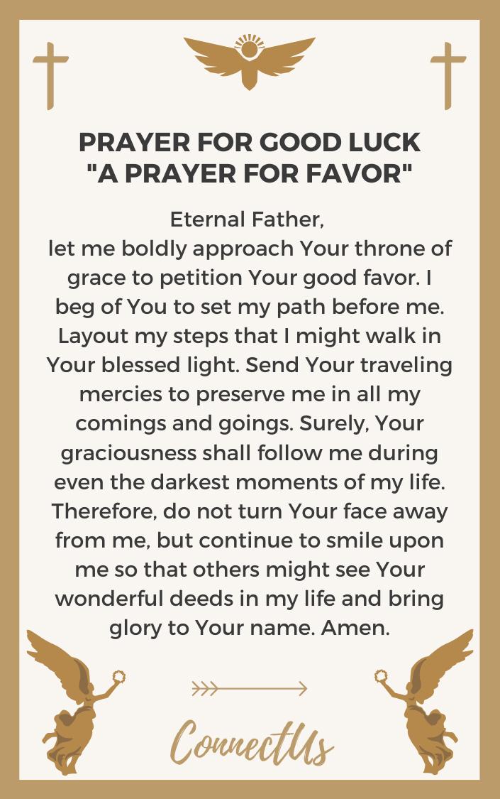 a-prayer-for-favor