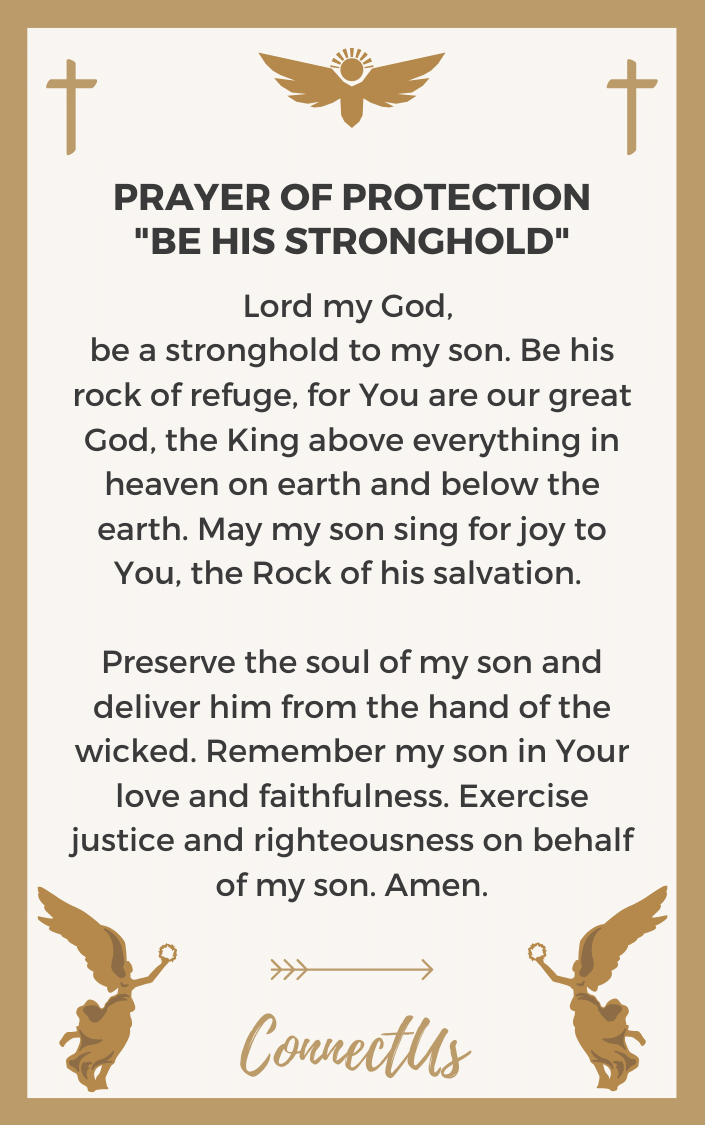 be-his-stronghold-prayer