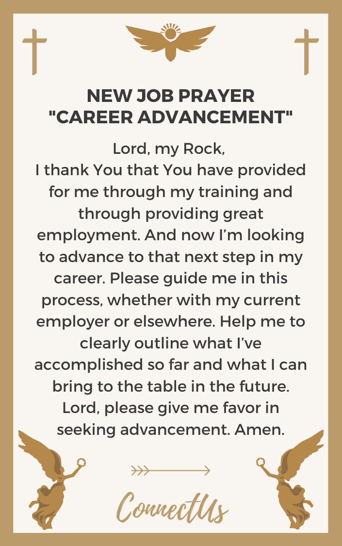 career-advancement-prayer