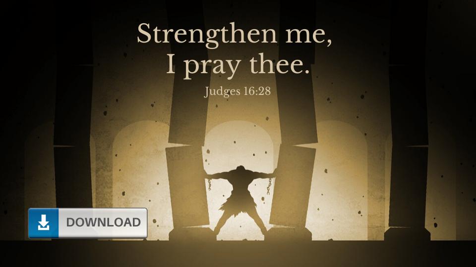 Christian Strength Wallpaper