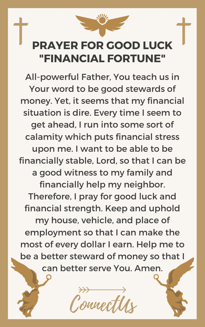 financial-fortune-prayer