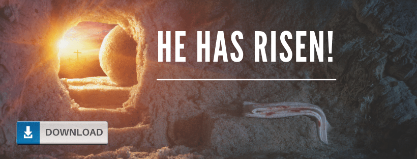 He Is Risen Facebook Cover