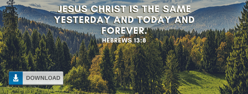 Hebrews 13:8 Fb Cover