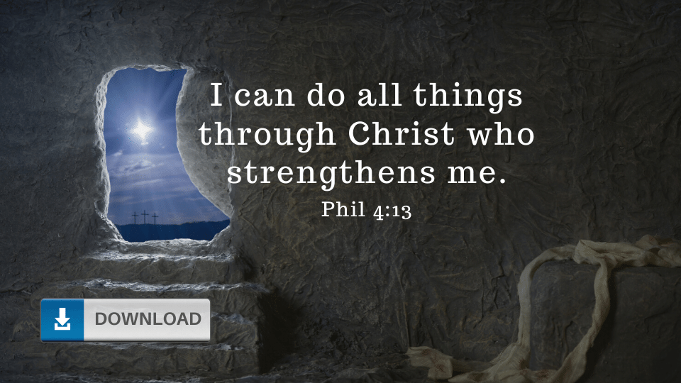 I Can Do All Thing Through Christ Wallpaper