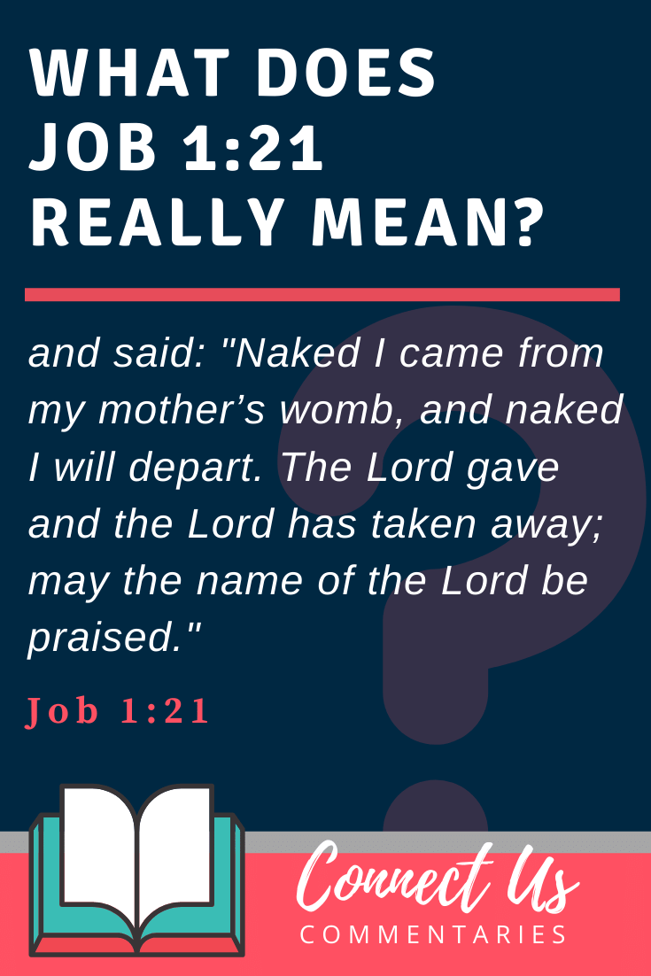 Job 1:21 Meaning and Commentary