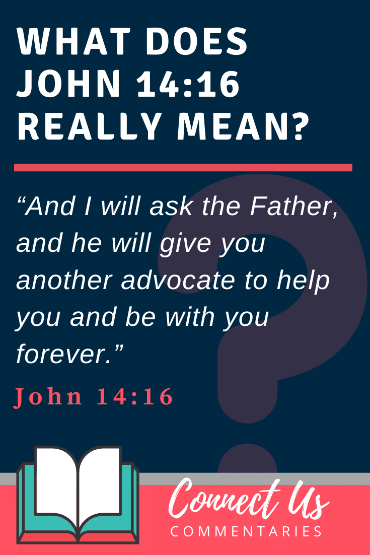John 14:16 Meaning and Commentary