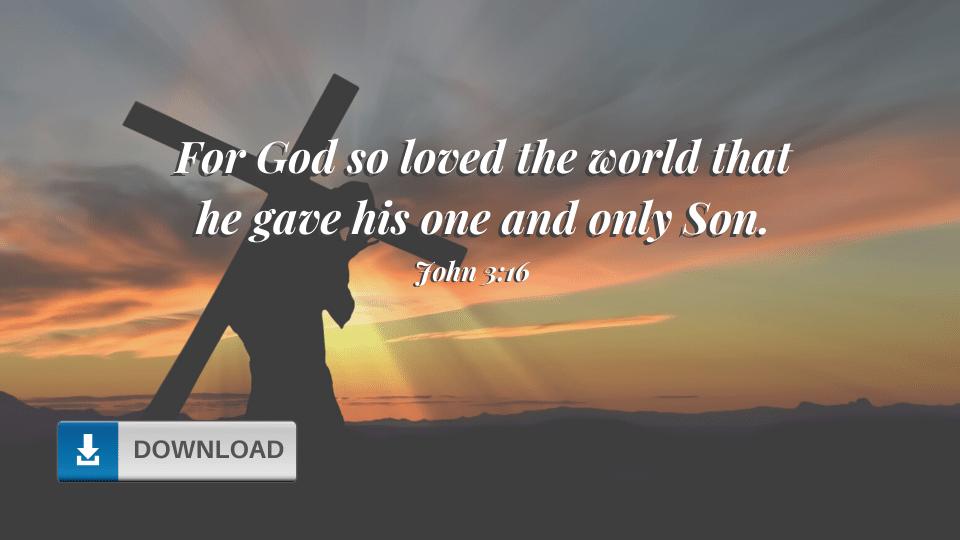 John 3:16 Wallpaper