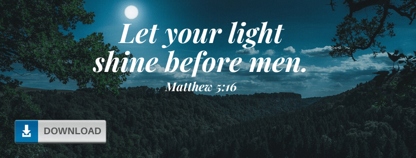 Matthew 5:16 Fb Cover