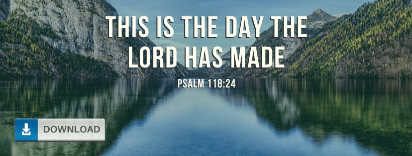 Psalm 118:24 Facebook Cover