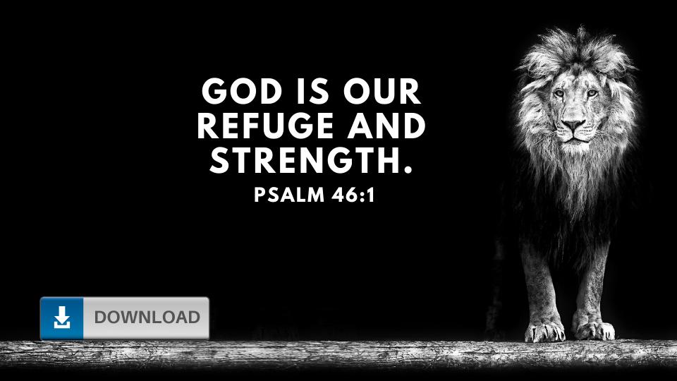 Psalm 46 Wallpaper