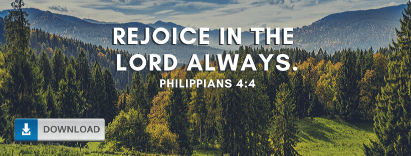 Rejoice in the Lord Fb Cover